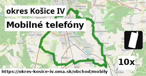 mobilné telefóny v okres Košice IV