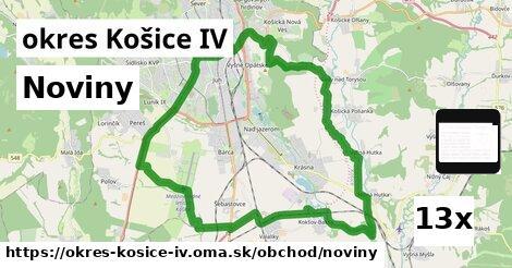noviny v okres Košice IV