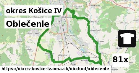 oblečenie v okres Košice IV