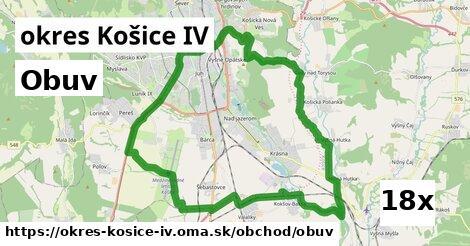 obuv v okres Košice IV