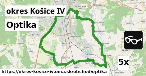 optika v okres Košice IV