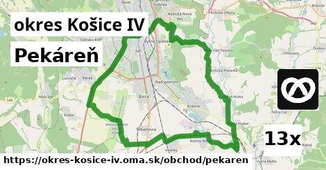 pekáreň v okres Košice IV