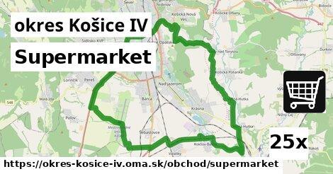 supermarket v okres Košice IV