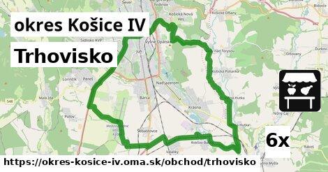 trhovisko v okres Košice IV