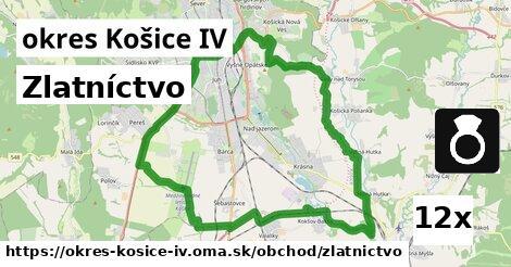 zlatníctvo v okres Košice IV