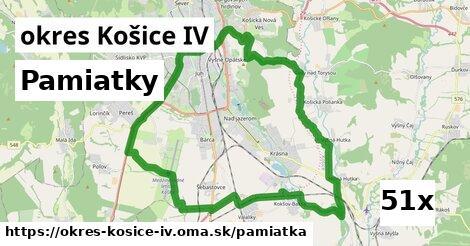 pamiatky v okres Košice IV