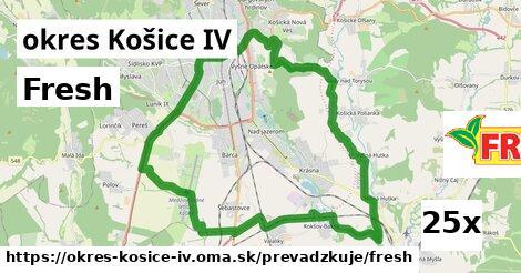 Fresh v okres Košice IV