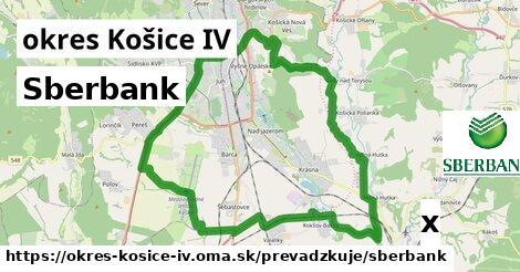Sberbank v okres Košice IV