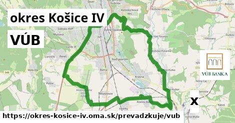 ilustračný obrázok k VÚB, okres Košice IV