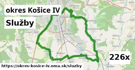 služby v okres Košice IV