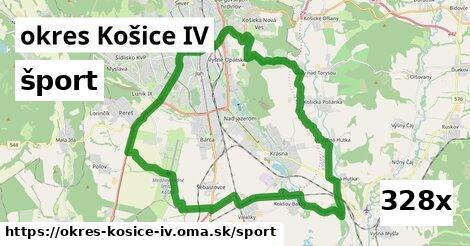šport v okres Košice IV