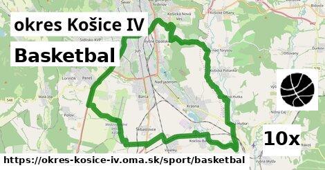 basketbal v okres Košice IV