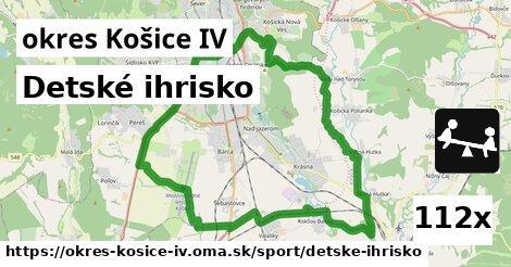detské ihrisko v okres Košice IV