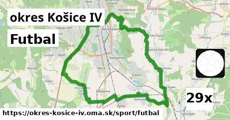 futbal v okres Košice IV