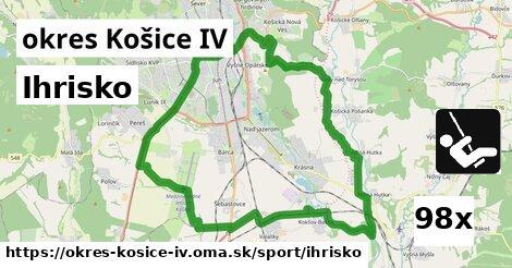 ihrisko v okres Košice IV