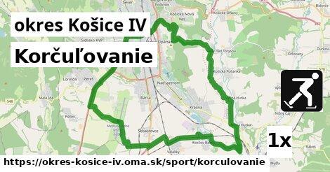 korčuľovanie v okres Košice IV