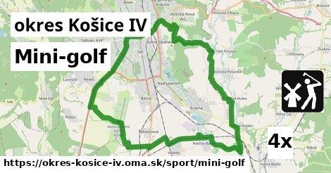 mini-golf v okres Košice IV