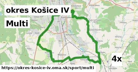 multi v okres Košice IV