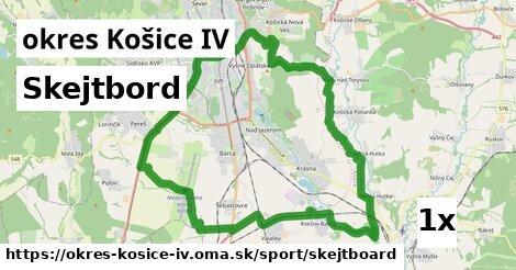 skejtbord v okres Košice IV