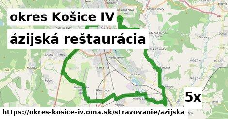 ázijská reštaurácia v okres Košice IV
