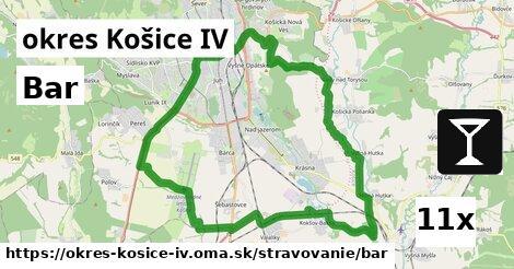 bar v okres Košice IV