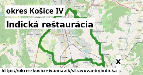 indická reštaurácia v okres Košice IV