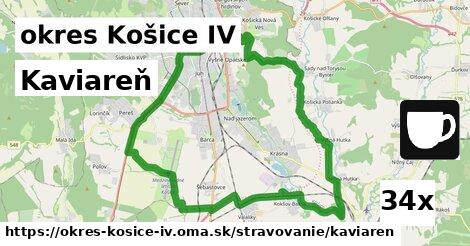kaviareň v okres Košice IV
