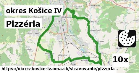 pizzéria v okres Košice IV