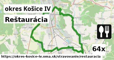 ilustračný obrázok k Reštaurácia, okres Košice IV