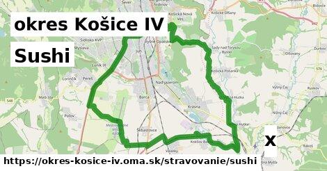 ilustračný obrázok k Sushi, okres Košice IV