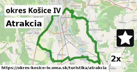 ilustračný obrázok k Atrakcia, okres Košice IV
