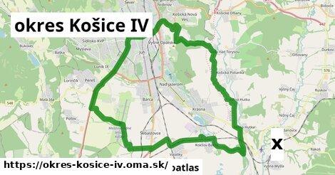 strom v okres Košice IV