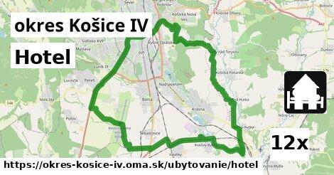 hotel v okres Košice IV