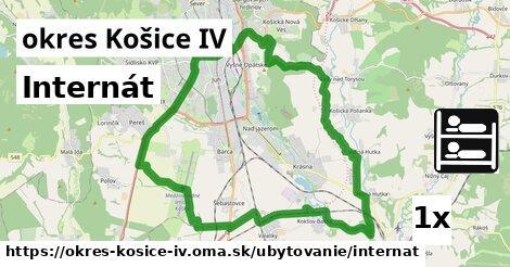 ilustračný obrázok k Internát, okres Košice IV