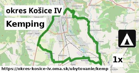 kemping v okres Košice IV