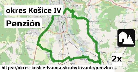penzión v okres Košice IV