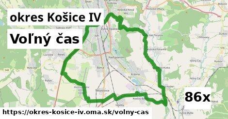 voľný čas v okres Košice IV