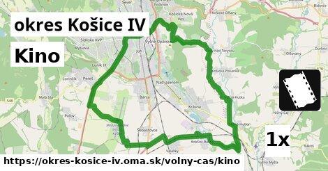 ilustračný obrázok k Kino, okres Košice IV