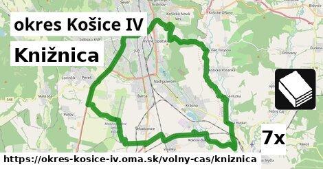 knižnica v okres Košice IV