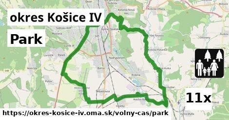 park v okres Košice IV