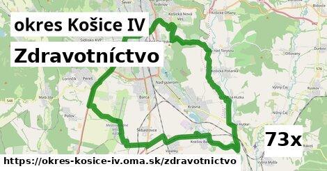 zdravotníctvo v okres Košice IV