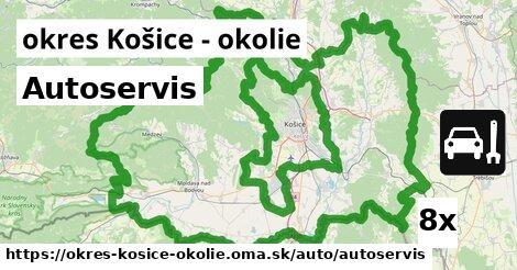 ilustračný obrázok k Autoservis, okres Košice - okolie