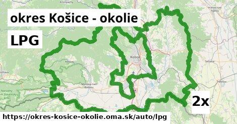 ilustračný obrázok k LPG, okres Košice - okolie
