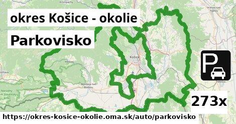 ilustračný obrázok k Parkovisko, okres Košice - okolie