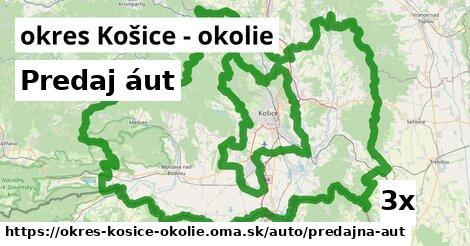 ilustračný obrázok k Predaj áut, okres Košice - okolie