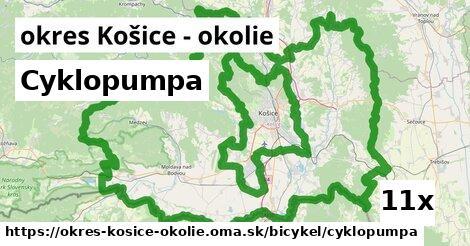 ilustračný obrázok k Cyklopumpa, okres Košice - okolie