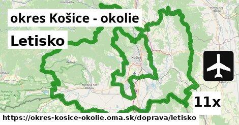 ilustračný obrázok k Letisko, okres Košice - okolie