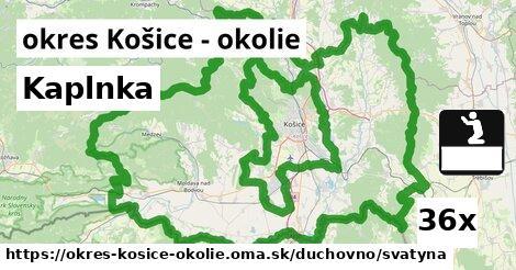 ilustračný obrázok k Kaplnka, okres Košice - okolie