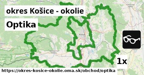 Optika, okres Košice - okolie