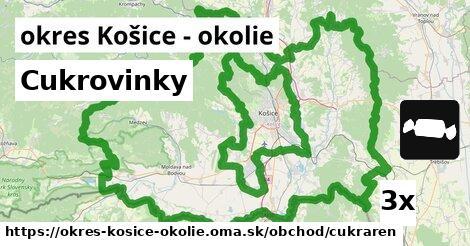 ilustračný obrázok k Cukrovinky, okres Košice - okolie